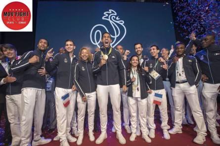 Mov'Fight, partenaire de la soirée officiel en l'honneur de l'équipe de France Olympique de boxe