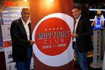 Mathieu Bauderlique (médaillé olympique) et Abdelilah Rahilou (co-fondateur Mov'Fight Club)