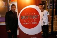 Sofiane Oumiha (médaillé olympique) et Driss Chbili (co-fondateur Mov'Fight Club)
