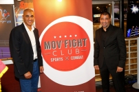 Abdelilah Rahilou et Driss Chbili, fondateurs du Mov'Fight Club